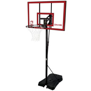 Spalding 44 Inch Courtside Acrylic Portable Basketball System